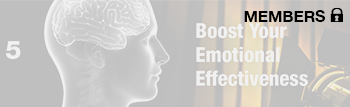 Boost Your Emotional Effectiveness
